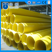 yellow HDPE PIPE 150mm from XINGBANG company for oil or gas transportation