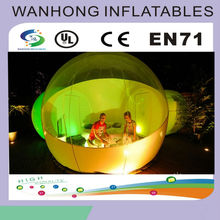 Outdoor inflatable clear tent, inflatable bubble tent, inflatable bubble room