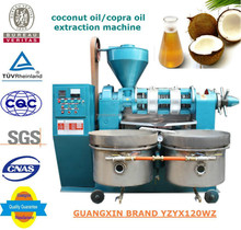 High quality coconut oil extraction machine YZYX120WZ multi function oil pressing