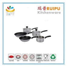 New products2016 kitchen utensils set stainless steel cookware non stick kitchen ware cooking pots kinox cookware for hot sell