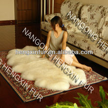 Sheepskin Rug Colored sheepskin rug colored
