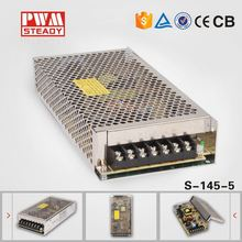 WHOLESALE s-145-5 145W Single output power supply 145w 5v ac dc led driver power supply
