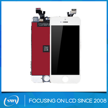Mobile phones display Lowest price Grade A/Original pass lcd for iphone 5 lcd replacement