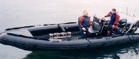 SEARAIDER RIB BOAT