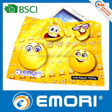 China new innovative design product microfiber print cleaning on table cloth fabric