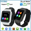 2015 Classical GSM BT3.0 FM MP3/MP4 FTB15 watch phone heart rate monitor