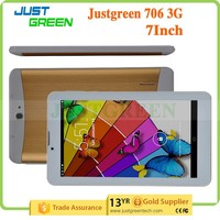 New 7 inch OEM pc tablet 3g phone call tablet pc MTK6572 Dual Core WIFI GPS Two camera tablet pc