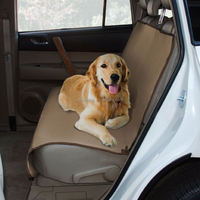 Wholesale waterproof dog car seat covers with pockets