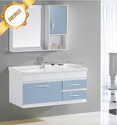 2RC-S80 wood cupboard design and bathroom plastic vanity cabinet for bathroom vanity units