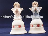 """5"""" Angel Ceramic bell for home decoration (A172)"""