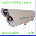 gasolinera 2MP SONY CMOS sensor número de placa de reconocimiento cámara CCTV