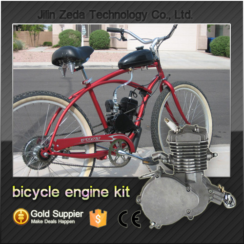2 Stroke Bike Engine Kit With Angle Fire Slant Head 80cc