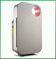 Big promotion air purifier with activated carbon ionizer filter with HEPA filter with UV Light from china