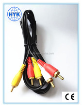 wholesale audio & video products/RCA cable/wire/cord/audio plug/jack