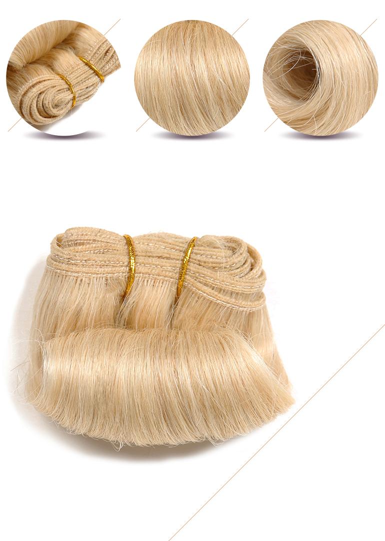 Miss Rola Hot Sale Afro B Blonde Human Hair Weave Cheap Human Hair