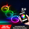 New Arriving RGB Led Multi-function Colors Controlled By phone App Projector lens