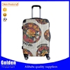Baigou luggage factory ABS luggage bag unique design traveling luggage trolley bag