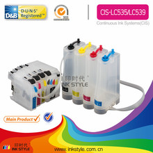 LC535 LC539 Cis for brother workforce DCP- J105 ciss ink system