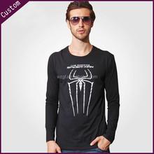 Spider top quality long sleeves t shirt men fashion t shirt