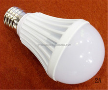 E27 microwave radar led sensor light bulb