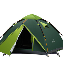 Outdoor camping tent for 3-4 people and waterproof sudes-021