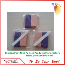 nail salon foot mini disposable pedicure manicure pumice set china enzyme odor eliminator