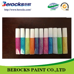 colorful and odorless glitter glue/interior wall glitter paint
