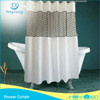 Factory Producing Lace Shower Curtain Black, Window Shower Curtain