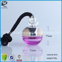 2015 Decorative glass car/office/home perfume air freshener