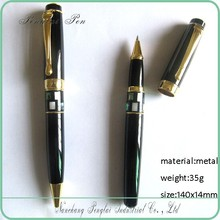 2015 factory price heavy metal new design copper hot beautiful metal pen with clip