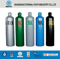 2015 New Type Seamless Steel High Pressure Empty Portable CO2 Gas Cylinder