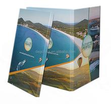Vídeo folleto diseño chino, personalizada tarjetas de video