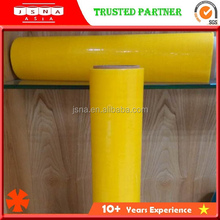 Stretch Film Manufacturer Professional Standard Hand use Yellow Stretch Film