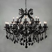Black maria theresa classical chandelier crystal lighting-85526