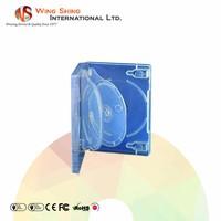 Unique multi-storage 26mm PP clear wedding DVD case