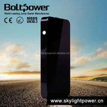Black Car Emergency Jump Starter power bank external battery charger for phones and portable devices (