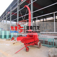 Agriculture silage chaff cutter for animal feeding