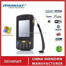 inventory management 3.5 inch Win CE 6.0 OS portable handheld computer, high speed scanner, data collector