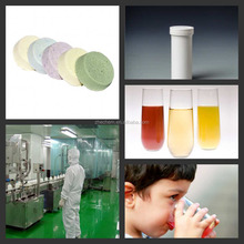 Energy drink effervescent tablet with electrolyte Contract Manufacturing