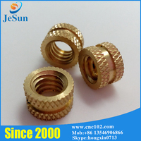ISO9001 Certificat China Factory e Professional Brass Knurling Nut