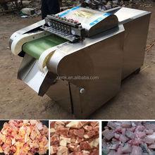 Easy operate frozen duck cubing machine