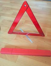 Car emergency tool kit, reflective triangle warning sign