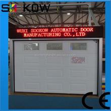 steel panel door/garage door overhead/standard residential door size