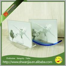 hot sale acrylic picture frame,sailing boat shape photo frame,funny photo frame