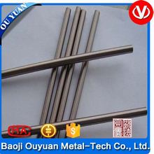 silver surface titan/titanium rods