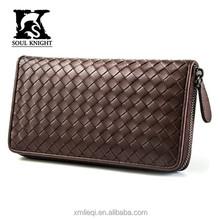 SK-3003 branded grid men leather handbag, unisex handbag, wallet
