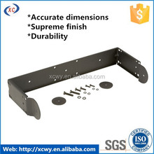 Metal pole clamp bracket