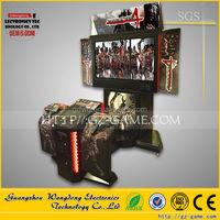 Europe hottest Coin pusher shooting target game ( WD-SG001 ) arcade Gun shooting machine