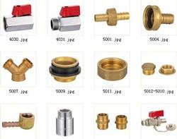 brass plumbing valves