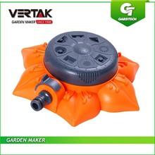 Six big department hot selling 8-pattern plastic multi-function adjustable pattern sprinkler